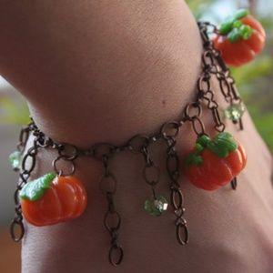 HANDMADE Pumpkin bracelet